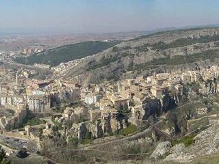 Cuenca, vista parcial - Cuenca, Castilla la Mancha