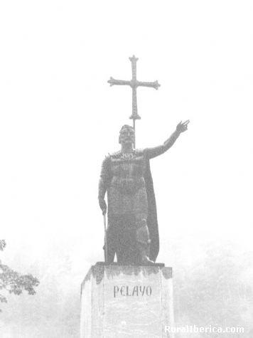 Don Pelayo inició la Reconquista - Cangas de Onís, Asturias, Asturias