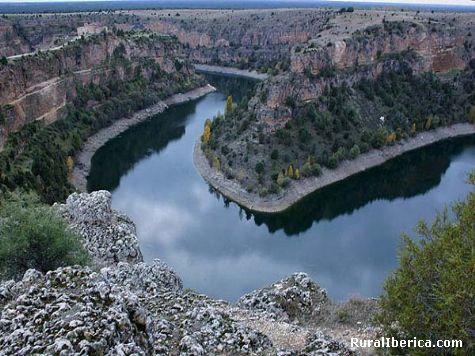 Hoces del Durat�n. Sepulveda, Segovia - Sepulveda, Segovia, Castilla y Le�n