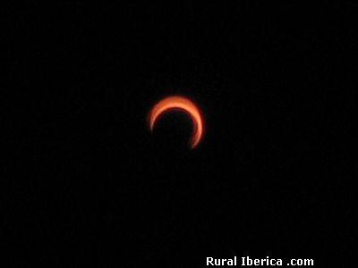 Eclipse de sol en Salamanca (03/10/2005) - Salamanca, Salamanca, Castilla y León