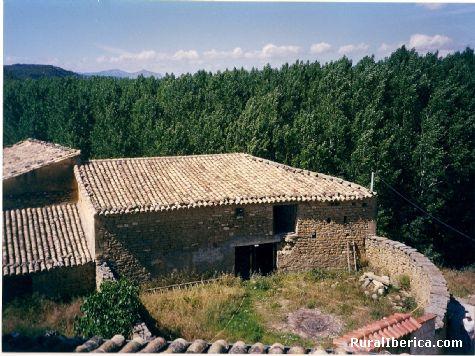 el hortal en ruinas año 1998 - Ardisa, Zaragoza, Aragón