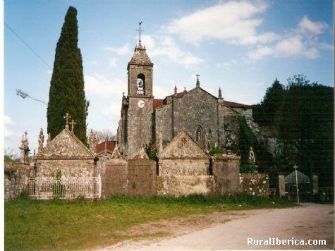 Cementerio en el Monasterio de Melón-Ourense - Melón-Ourense, Orense, Galicia