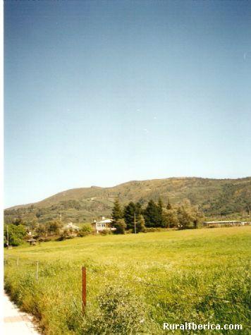 Lugar de aterrizaje del parapente-A Ribeira-Quiroga - A Ribeira-Quiroga, Lugo, Galicia