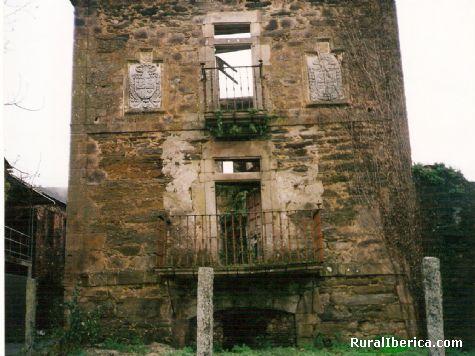 Torre de la casa se�orial de Tor-Hospital-Quiroga - HOSPITAL-QUIROGA, Lugo, Galicia