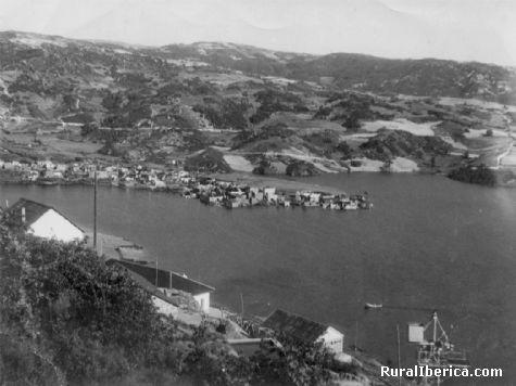O encorotragando o pobo da Albergueria - a veiga, Orense, Galicia