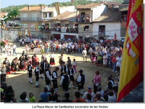 Fiestas en Santibáñez de la Sierra, Salamanca - Santibáñez de la Sierra, Salamanca, Castilla y León