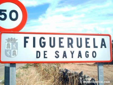 figueruela de sayago,cartel entrada al pueblo - zamora, Zamora, Castilla y León
