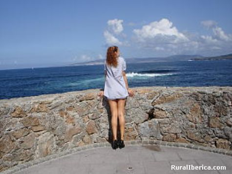 Contenplando fisterra - fisterra, La Coruña, Galicia