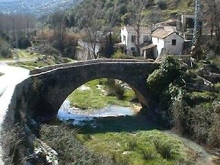 Puente Romano de Colomera - Colomera, Granada, Andalucía