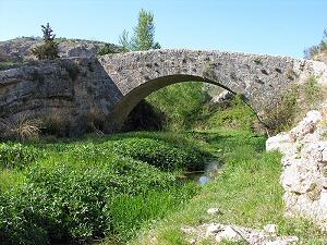 Puente Romano de Colomera siglo I. Granada - colomera, granada, andaluc�a