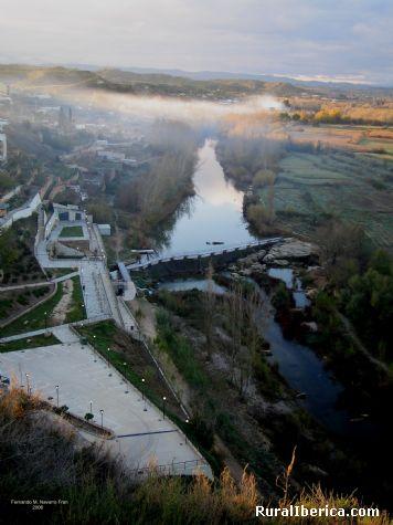 Río Guadalope. Alcañiz, Teruel - Alcañiz, Teruel, Aragón