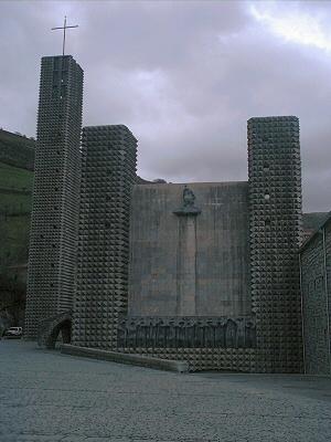 Santuario de Arantzazu, Guipúzcoa - Guipúzcoa, País Vasco