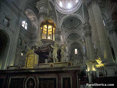 Interior de la Catedral de Jaén. Jaén, Andalucía - Jaén, Jaén, Andalucía