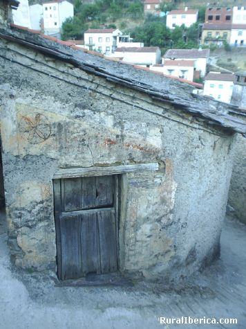 corral, antigua casa - LA HUETRE, Cáceres, Extremadura