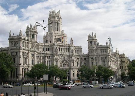 Madrid, Palacio de Comunicaciones - Madrid