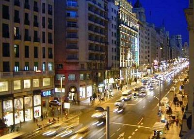 Madrid, vista nocturna - Madrid