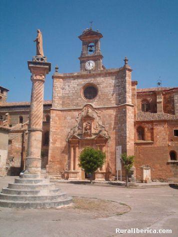 Rollo e Iglesia - Mahamud, Burgos, Castilla y León