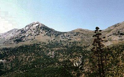 Serrania de Ronda, en el Valle del Guadiaro, el Pico Martingil - Ronda, Málaga, Andalucía