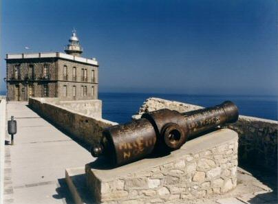 Cañón en la Fortaleza de Melilla - melilla, melilla, melilla