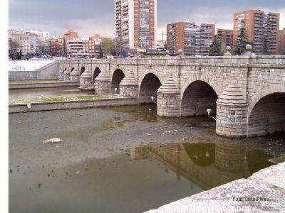 Puente de Segovia. Madrid - Madrid, Madrid, Madrid