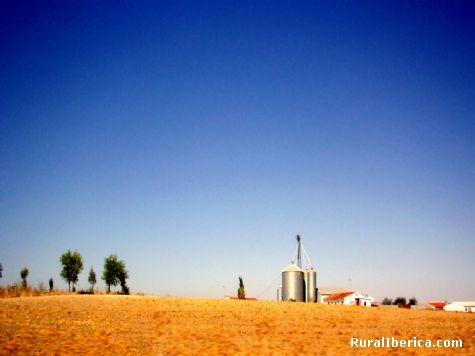 Azul y amarillo. Villamiel, Toledo - Villamiel, Toledo, Castilla la Mancha