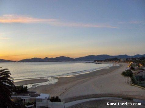 Praia de samil vigo - vigo, Pontevedra, Galicia