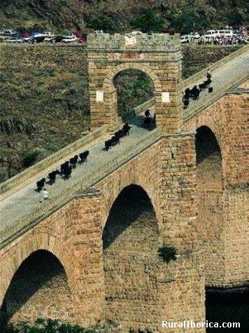 Puente Romano de Alcántara. Alcántara, Cáceres - Alcántara, Cáceres, Extremadura