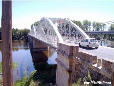 El Puente de Hierro (1901). Coria, Cáceres - Coria, Cáceres, Extremadura