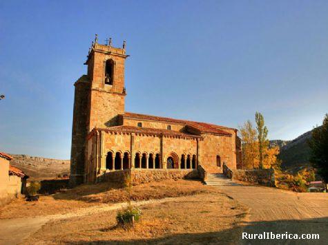 Iglesia romanica - Rebolledo de la Torre, Burgos, Castilla y León