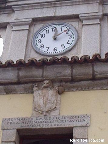 Ayuntamiento. San Juan de la Nava, �vila - San Juan de la Nava, �vila, Castilla y Le�n