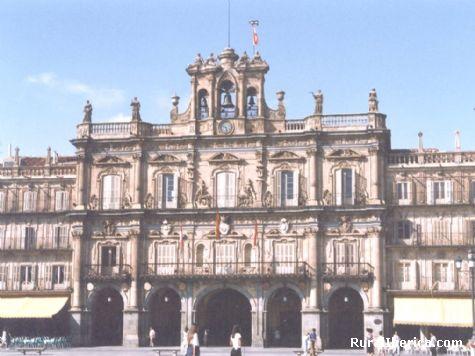 Plaza Mayor de Salamanca - Salamanca, Salamanca, Castilla y León