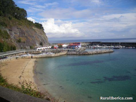 Playa y puerto de San Martín del Sella / Lastres - San Martín del Sella / Lastres, Asturias, Asturias