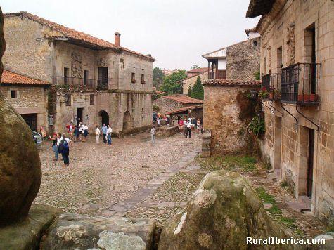 Calle. Santillana del Mar, Cantabria - Santillana del Mar, Cantabria, Cantabria