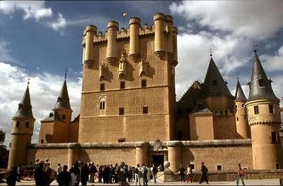 Segovia, el Alcazar - Segovia, Castilla y León