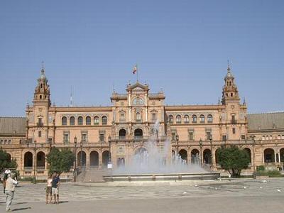 Sevilla, Plaza de España - Sevilla, Andalucía