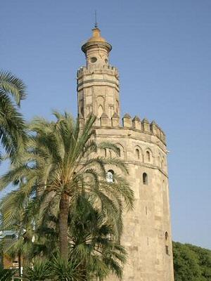 Sevilla, Torre del Oro - Sevilla, Andalucía