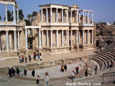 Teatro romano de Mérida, Badajoz - Mérida, Badajoz, Extremadura
