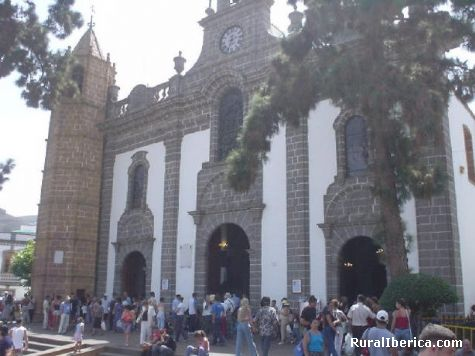 Iglesia de Nuestra Se�ora del Pino (Bas�lica del Pino) - G�ldar., , Islas Canarias