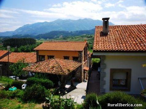 Desde mi casa el Mirador del Fitu y el Sueve - Sales, Asturias, Asturias