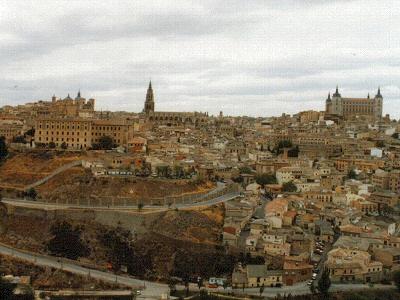 Toledo, vista de la ciudad - Toledo, Castilla la Mancha
