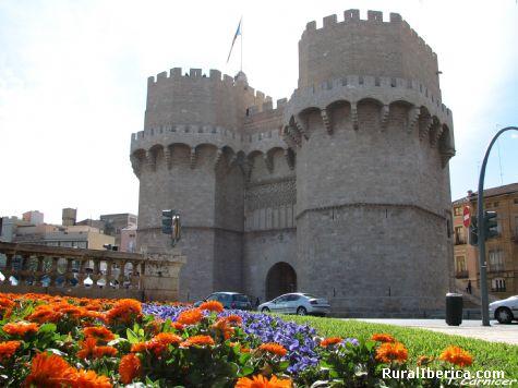 Torres de Serranos. Valencia - La Cañada -Paterna, Valencia, Comunidad Valenciana