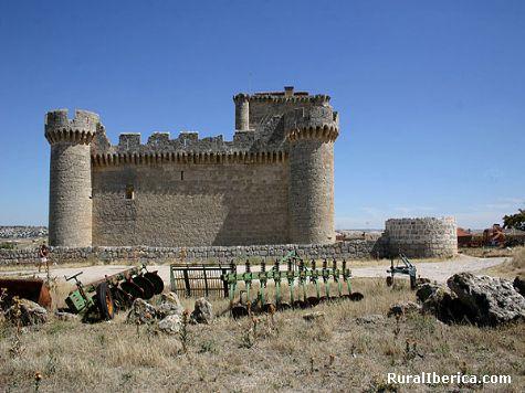 Castillo. Villafuerte, Valladolid - Villafuerte, Valladolid, Castilla y León