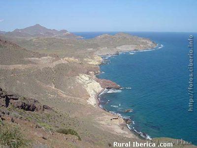 Vista desde la Torre de la Vela Blanca. Almería - Almería, Almería, Andalucía