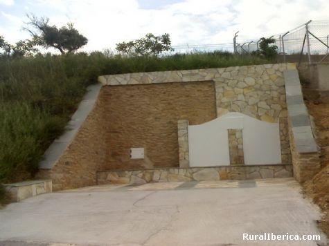 La fuente de A A Portela de Portomourisco, Orense - A Portela de Portomourisco, Orense, Galicia