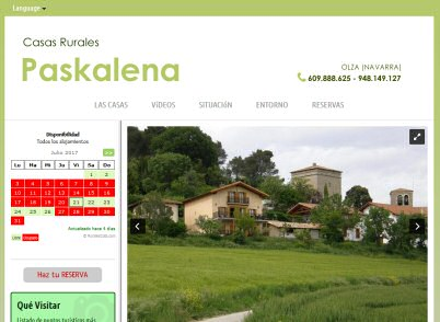 Casa rural paskalena i y ii olza navarra - Casa rural arginenea ...