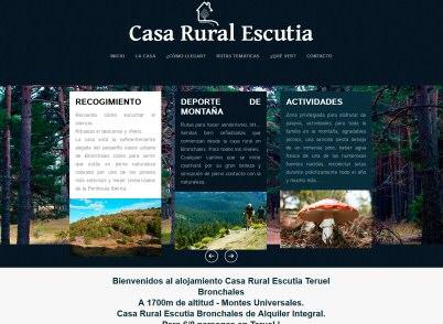 Turismo rural en espa a rural ib rica - Casa rural bronchales ...